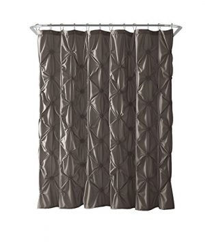 VCNY Home Floral Burst Shower Curtain 72x72 Taupe 0 0 300x360