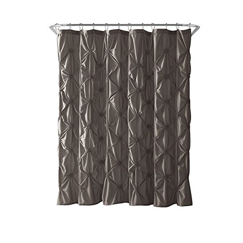 VCNY Home Floral Burst Shower Curtain 72x72 Taupe 0 0