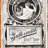 Wall-Color-9-x-12-Metal-Sign-1895-Buttermilk-Toilet-Soap-Vintage-Look-0