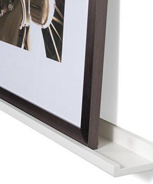Wallniture Denver Set Of 4 White 46 Inch Floating Shelf Bookshelves Display Bookcase Modern Wood Shelving Units For Kids Bedrooms Nurseries Wall Mounted Storage Shelves 0 0 300x360