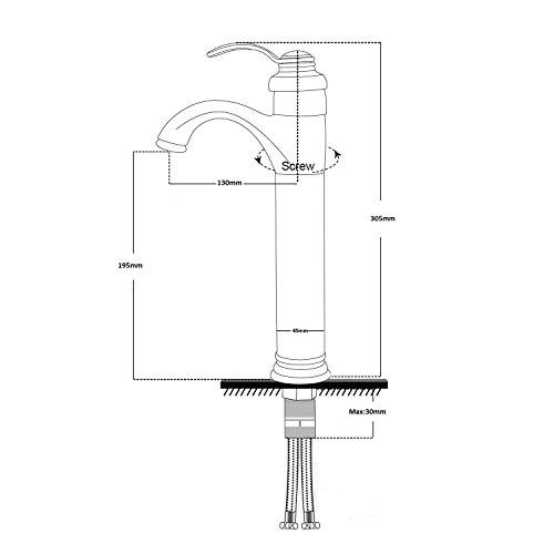 Yodel Bathroom Vessel Sink Faucet Oil Rubbed Bronze 0 3