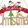 Zilo Novelties Merry Christmas Sign Farmhouse Christmas Decor Christmas Sign Wooden A 0 100x100