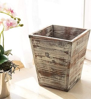 Farmhouse Bathroom Wastebaskets