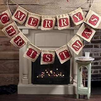 farmhouse christmas garland