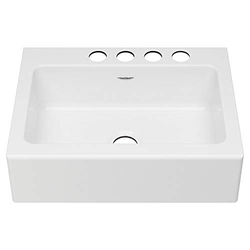 American Standard 77SB30220A308 Delancey 30 X 22 Single Bowl Apron Front Cast Iron Kitchen Sink 30 X 22 Inch Brilliant White 0 0