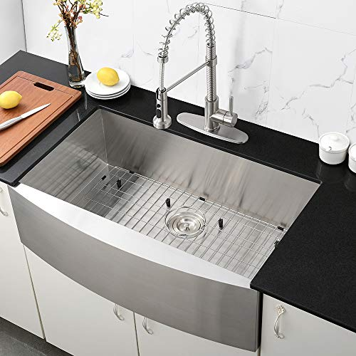 33 Inch Farmhouse Sink A Front Deep