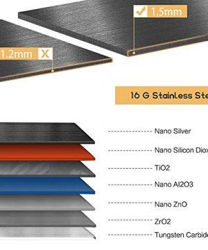Bokaiya 33 Farmhouse Apron Sink Black 16 Gauge 10 Inch Deep Single Bowl Stainless Steel Kitchen Sink Matte Black 0 1 300x360