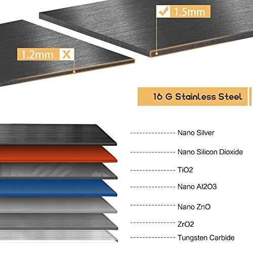 Bokaiya 33 Farmhouse Apron Sink Black 16 Gauge 10 Inch Deep Single Bowl Stainless Steel Kitchen Sink Matte Black 0 1