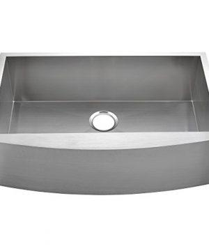 Commercial 36 Inch 304 Stainless Steel Farmhouse Kitchen Sink Single Bowl 16 Gauge 10 Inch Deep Handmade Undermount Kitchen Apron Sink 0 4 300x360