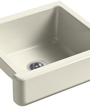 KOHLER-K-5664-FD-Whitehaven-Farmhouse-Self-Trimming-23-12-Inch-x-21-916-Inch-x-9-58-Inch-Undermount-Single-Bowl-Kitchen-Sink-with-Short-Apron-Cane-Sugar-0