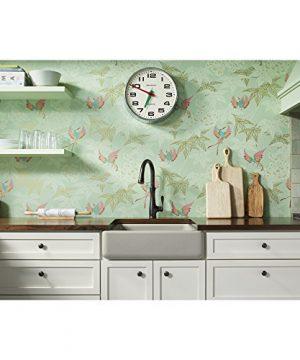 KOHLER K 5664 G9 Whitehaven Farmhouse Self Trimming 23 12 Inch X 21 916 Inch X 9 58 Inch Undermount Single Bowl Kitchen Sink With Short Apron Sandbar 0 0 300x360