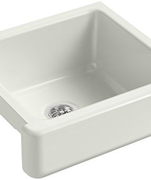 KOHLER-K-5664-NY-Whitehaven-Farmhouse-Self-Trimming-23-12-Inch-x-21-916-Inch-x-9-58-Inch-Undermount-Single-Bowl-Kitchen-Sink-with-Short-Apron-Dune-0