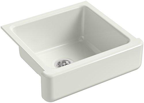 KOHLER-K-5664-NY-Whitehaven-Farmhouse-Self-Trimming-23-12-Inch-x-21-916-Inch-x-9-58-Inch-Undermount-Single-Bowl-Kitchen-Sink-with-Short-Apron-Dune-0