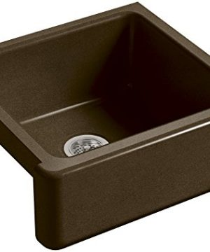 KOHLER-K-5665-KA-Whitehaven-Farmhouse-Self-Trimming-23-1116-Inch-x-21-916-Inch-x-9-58-Inch-Undermount-Single-Bowl-Kitchen-Sink-with-Tall-Apron-BlackTan-0