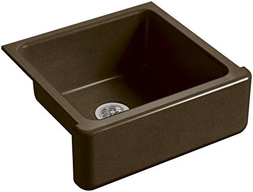 KOHLER-K-5665-KA-Whitehaven-Farmhouse-Self-Trimming-23-1116-Inch-x-21-916-Inch-x-9-58-Inch-Undermount-Single-Bowl-Kitchen-Sink-with-Tall-Apron-BlackTan-0