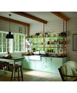 KOHLER K 6351 0 Whitehaven Hayridge Under Mount Single Bowl Kitchen Sink With Tall Apron White 0 0 300x360