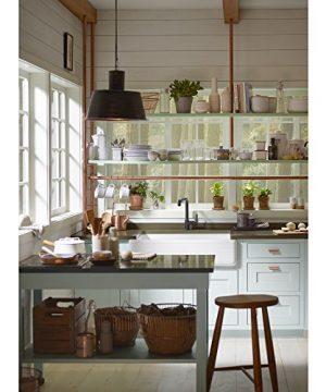 KOHLER K 6351 0 Whitehaven Hayridge Under Mount Single Bowl Kitchen Sink With Tall Apron White 0 1 300x360