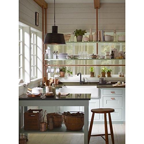 KOHLER K 6351 0 Whitehaven Hayridge Under Mount Single Bowl Kitchen Sink With Tall Apron White 0 1