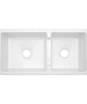 Signature Hardware 406513 Risinger 36 6040 Offset Bowl Fireclay Farmhouse Sink With Casement Apron 0 0 300x360