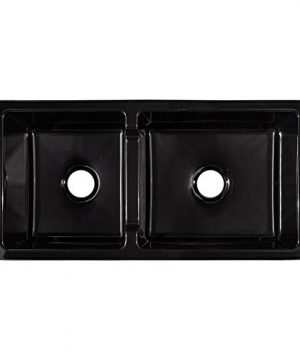 Signature Hardware 406513 Risinger 36 6040 Offset Bowl Fireclay Farmhouse Sink With Casement Apron 0 1 300x360