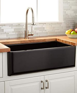 Signature Hardware 422816 Grigham 33 Single Basin Fireclay Reversible Farmhouse Sink 0 300x360