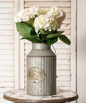 Vintage Industrial Farmhouse Chic Flowers And Plants Can With Handle Does Not Come With Flowers 0 300x360