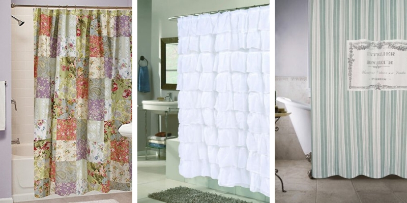 farmhouse shower curtains