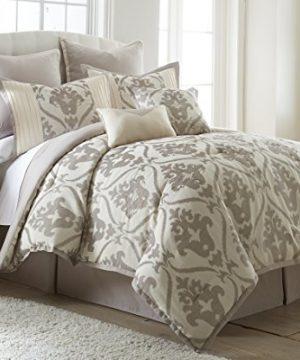 Amrapur Overseas 38EJECMG SOP KG 8 Piece Jacquard Comforter Set Sophia King 0 300x360