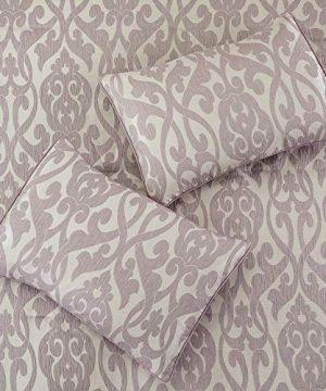 Amrapur Overseas Azlin 8 Piece Floral Damask Microfiber Comforter Set King 0 2 300x360