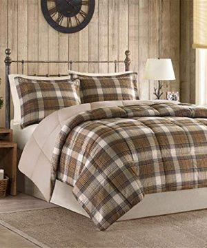 BLACK FOREST DECOR Woodsman Comforter Set FullQueen 0 300x360