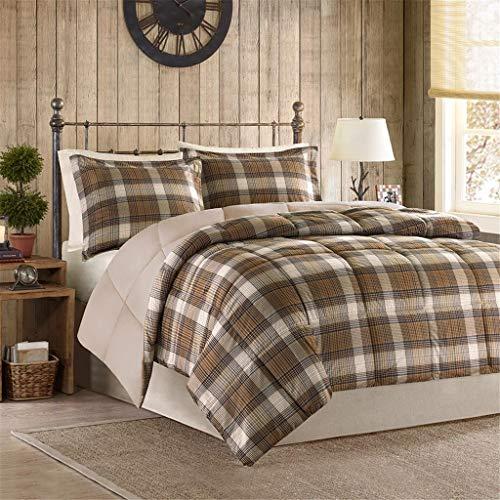 BLACK FOREST DECOR Woodsman Comforter Set FullQueen 0