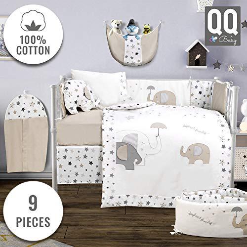 Baby Crib Bedding Set 100 Turkish, Baby Cot Bedding Accessories