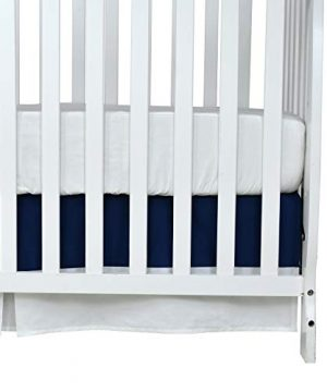 Brandeam Baby Boys Patchwork Crib Bedding Sets Navy Blue Rustic Nursery Bedding 100 Cotton American Flag Newborn Infant Blanket With StripeStar Hot Baby Shower Gift 0 1 300x360