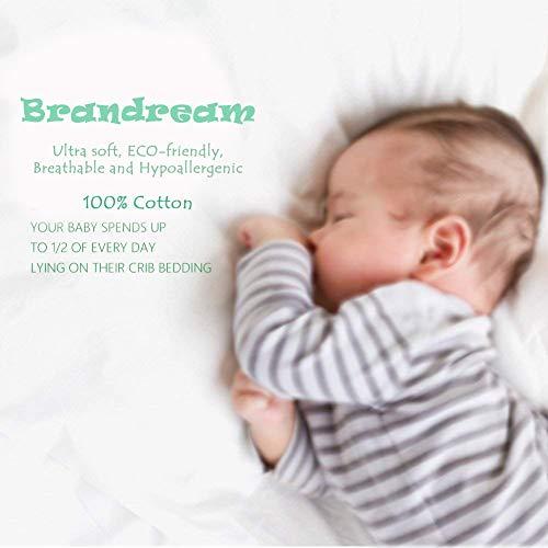 Brandream Baby Crib Bedding Sets For Girls Ruffled Rose