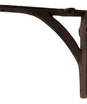 Cast Iron Shelf Brackets Braces Ironbridge Arch 6 X 6 Inch Set Of 6 Rustic Antique Style 0 1 300x360