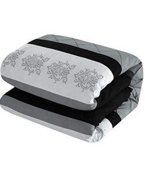 Chic Home Clayton 10 Piece Comforter Set King Grey 0 0 300x360