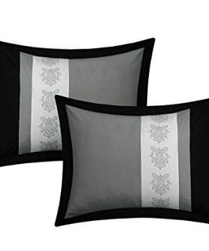 Chic Home Clayton 10 Piece Comforter Set King Grey 0 1 300x360