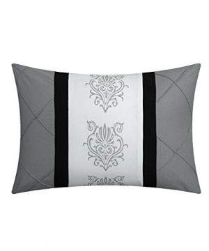 Chic Home Clayton 10 Piece Comforter Set King Grey 0 3 300x360