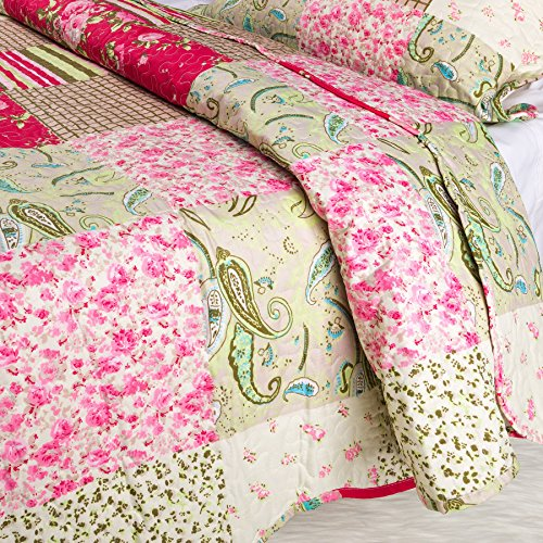 Coast To Coast Living Quilt Sets Luxurious 3pc Bedspreads Cotton Rich Soft Berkshires King 0 1