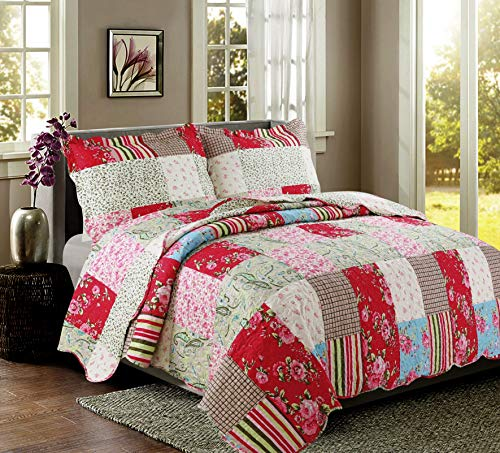 Coast To Coast Living Quilt Sets Luxurious 3pc Bedspreads Cotton Rich Soft Berkshires King 0 2