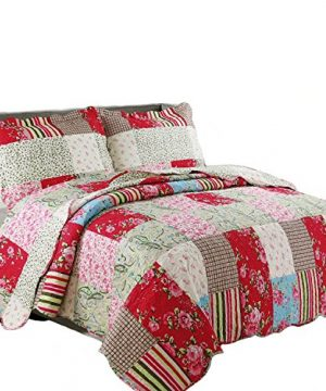 Coast To Coast Living Quilt Sets Luxurious 3pc Bedspreads Cotton Rich Soft Berkshires King 0 300x360