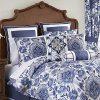 Croscill Leland Comforter Set Navy 0 100x100