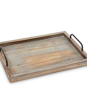 Decorative Ottoman Serving Tray KitchenCoffee TableHome DecorBreakfast Trays Wooden Server Platter Rustic Country Platters Wood Server Farmhouse Decor Kitchen Decor Wood Platter 0 0 300x360