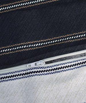 ESSINA FullQueen Duvet Cover Set 3pc Valencia Collection Cotton 620 Thread Count Reversible Duvet Cover Pillow Sham Niagara 0 2 300x360