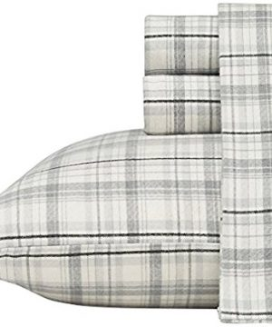 Eddie Bauer Beacon Hill Flannel Sheet Set Queen 0 300x360