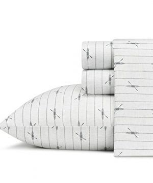 Eddie-Bauer-Downstream-Cotton-Percale-Sheet-Set-Queen-0