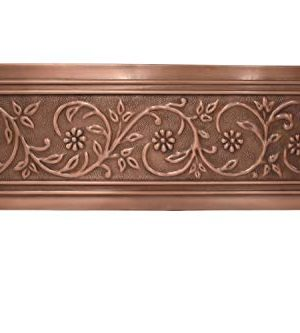 Empire Industries VE33S Versailles Farmhouse Copper Kitchen Sink With Grid And Strainer 33 0 1 300x333
