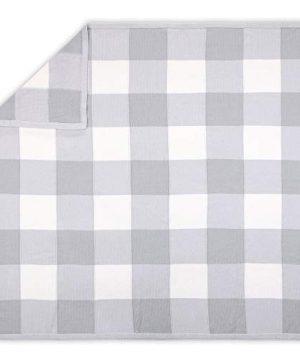Farmhouse Grey 3 Piece Baby Crib Bedding Set Rustic Country Theme 0 0 300x360