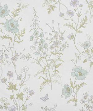 Five Queens Court Kate Swiss Dot 100 Cotton Floral Farmhouse Comforter Set White FullQueen 92x96 0 1 300x360