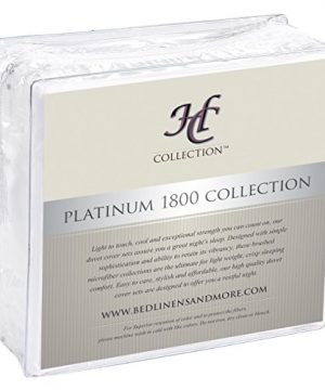 Hotel Luxury Bed Sheets Set 1800 Series Platinum Collection Deep PocketWrinkle Fade Resistant KingWhite 0 2 300x360